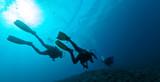 Grupa nurków podwodnych