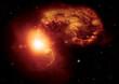 Fototapete Astronomie - Hintergrund -