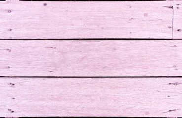 Close up Soft pink wood for background texture