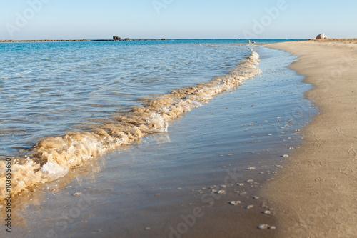 Aluminium Schipbreuk Sea waves
