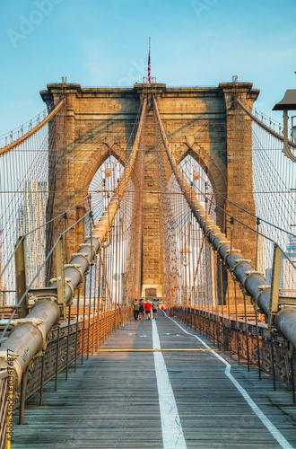 Foto op Aluminium New York Brooklyn bridge in New York City