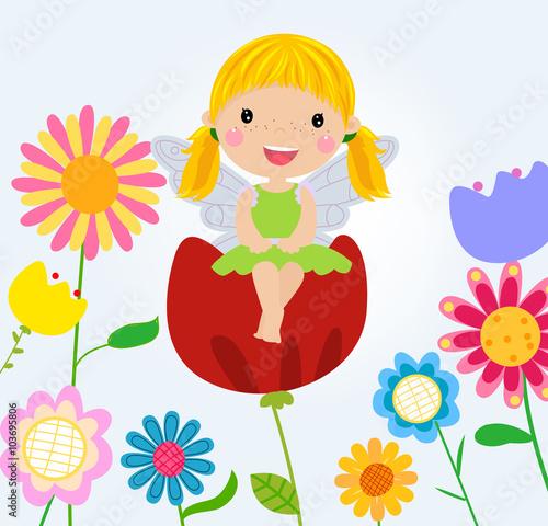 Obraz Flower fairy