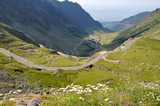 Mountain road / Transfagarasan road in summer