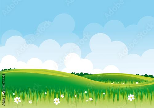 Zdjęcia na płótnie, fototapety, obrazy : Panorama primavera