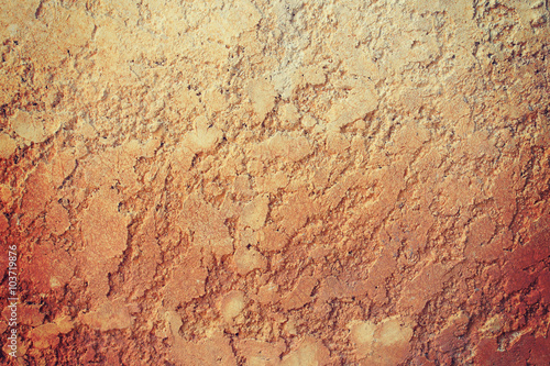 Fototapeta Stucco brown wall background or texture