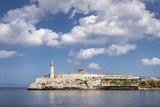 Blick auf Castillo de los Tres Reyes del Morro Havanna