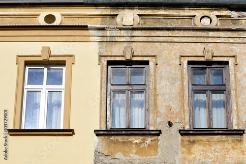 Papiers peints Cracovie Fassade