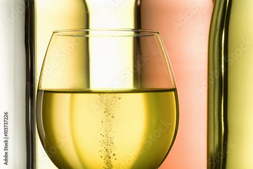 Fototapeta white wine
