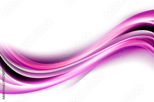 Light Pink Waves Background