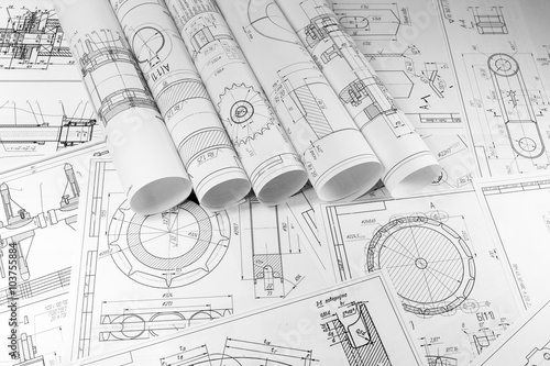 Engineering and technology. Technical drawing.