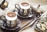 Turkish coffee with turkish delight