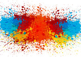 abstract splatter color background. illustration vector design - 103820442