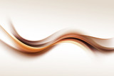 Gold Brown Wave Design Abstract Background - 103820839