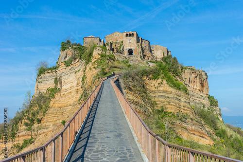 Zdjęcia na płótnie, fototapety na wymiar, obrazy na ścianę : Civita di Bagnoregio Old Town Italy Landscape