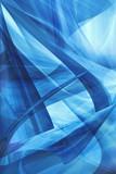 Naklejka Hintergrund blau abstrakt