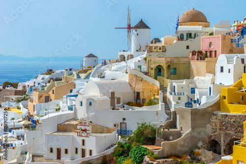 Zdjęcia na płótnie, fototapety na wymiar, obrazy na ścianę : Santorini Island Greece