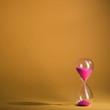 Hourglass sand glass