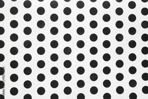 Materiał do szycia seamless Polka dot background