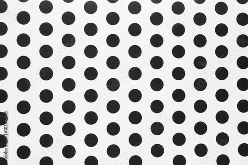 Cotton fabric seamless Polka dot background