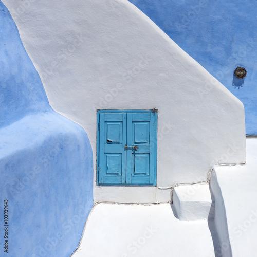 Fototapety, obrazy : Architecture on the island of Santorini