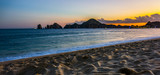 Fototapety Beach Sunset Colours in Cabo San Lucas, Mexico