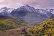 Stormy Mountain Sunrise