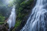 Fototapety 初夏の乗鞍高原、三本滝