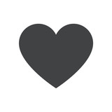 Heart icon, heart vector icon, heart icon illustration