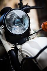Classic motorcycle headlight © bizoo_n