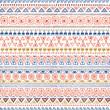 Ethnic tribal Seamless Pattern
