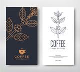 Fototapety Packaging design coffee.