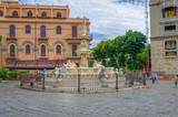 La fontaine d'Orion à Messine.Sicile.