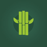 Sugar cane vector icon. Sugar cane sign and symbol in flat style. Sugar cane concept food