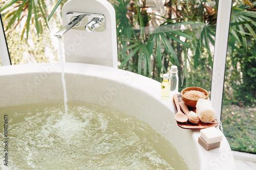 Spa bath compostition © Alena Ozerova