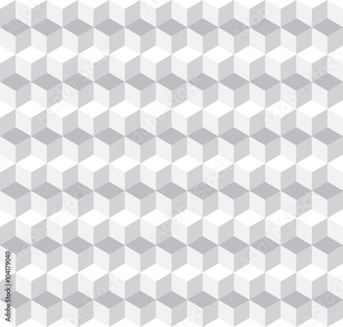 Cubic Seamless Pattern Background - 104179040
