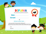 Children With Diploma