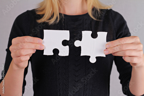 two pieces of a puzzle