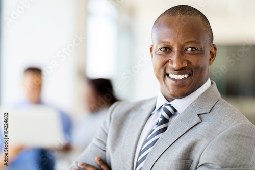 african businessman portrait