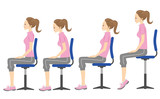 姿勢 椅子