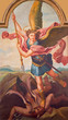 Sebechleby - The paint of archangel Michael from main altar of parisch church of St. Michael
