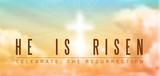Fototapety easter christian motive, resurrection