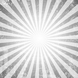 Grunge style abstract starburst & sunburst background - 104327434