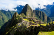 Misty clouds over Machu Picchu Wolrd Heritage Site