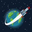 Space icon design