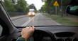 Driving a car - 104353851