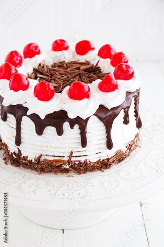 торт черный лес пошаговый рецепт с фото селезнева