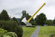 World's largest axe in Nackawic, Canada