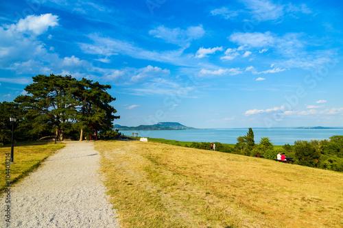 Landscape at Lake Balaton, Hungary Poster