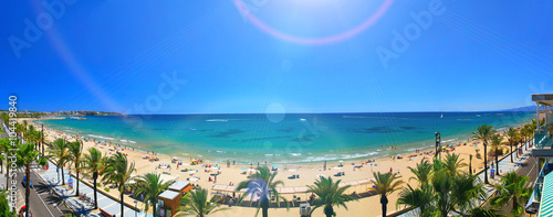View of Platja Llarga beach in Salou Spain - 104419840