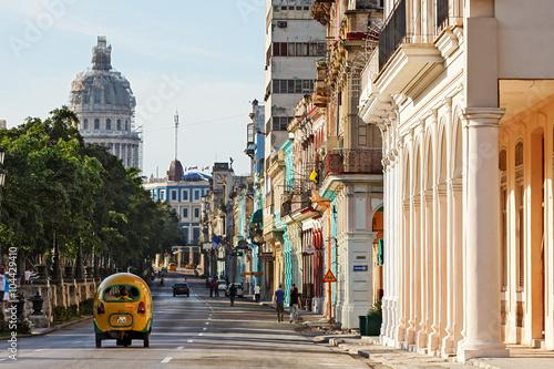 Foto op Canvas Havana Cuba, La Habana, Paseo de Martí (Prado)